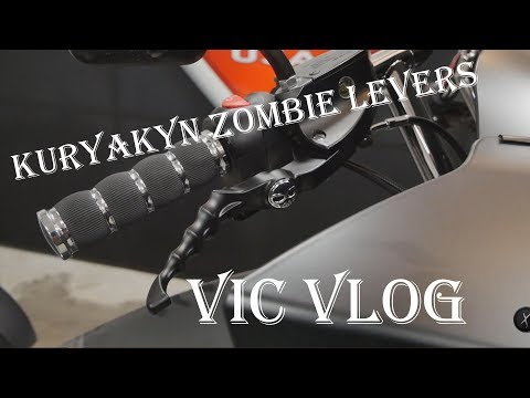 Kuryakyn Zombie Levers | How To Install Levers On Victory Cross Country