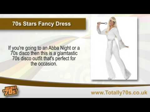 70s Stars Fancy Dress