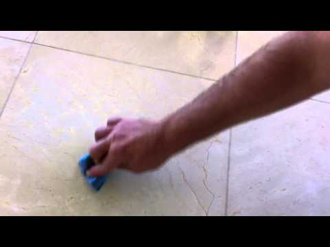 Romoving tape or adhesive from marble or granite floors