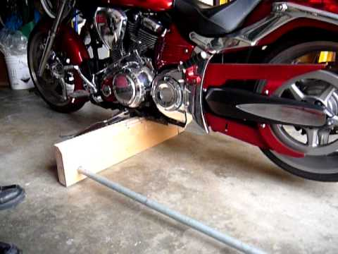 Raider Motorcycle quick lift jack