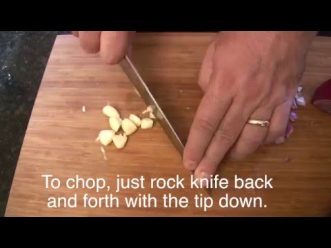 How to Peel and Chop Garlic