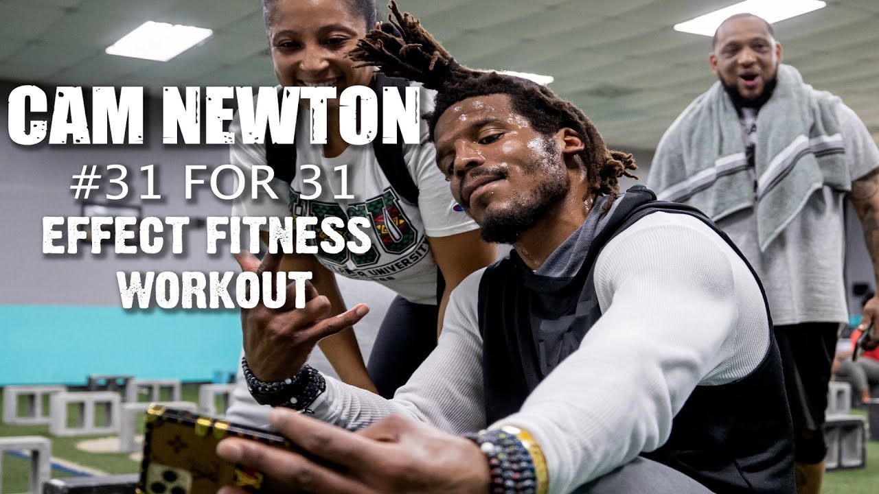 Cam Newton #31for31 Fitness Challenge