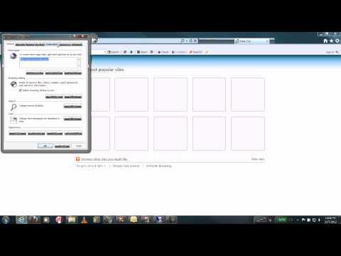 Win 7 Internet Explorer 8 How to Make Default Browser