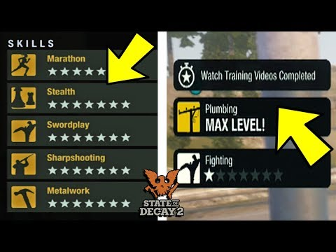How to *MAX ALL SKILLS FAST* in State of Decay 2!