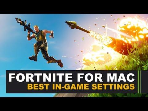 Fortnite for Mac - Best-In game Settings