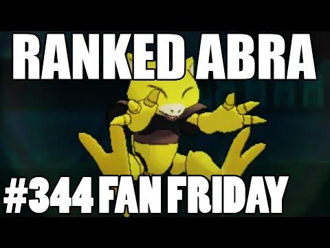 Abra Rated Battle? Pokemon Omega Ruby Alpha Sapphire WiFi Battle! Fan Fridays #344 MooCow