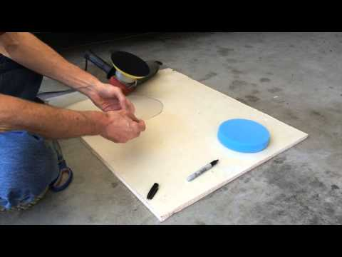 Harbor Freight Dual Action Polisher 69924- alternate pad size fix