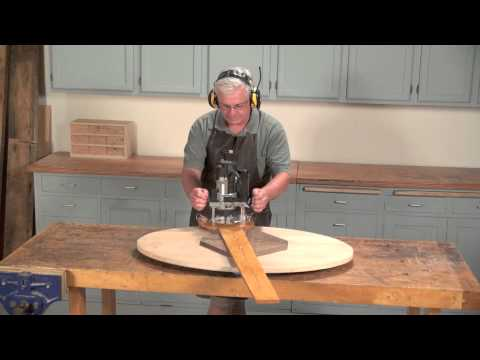 The Elliptical Router Jig