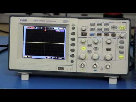 How to Make Phase Shift Measurements Using X-Y Mode on a Oscilloscope