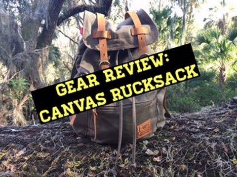 Gear Review: Canvas Rucksack