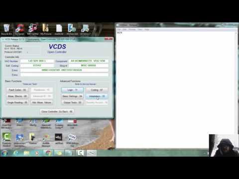 VCDS Key Program with PIN MK4 Jetta Golf Beetle