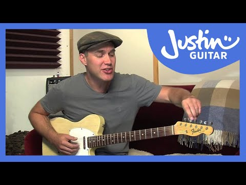 How to Tune Your Guitar To Open E Tuning - Guitar Lesson [ES-033]