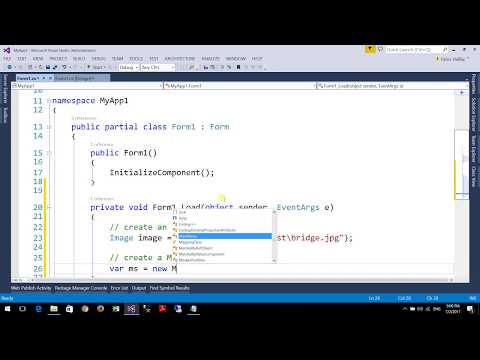 How to convert an image to byte array in c#