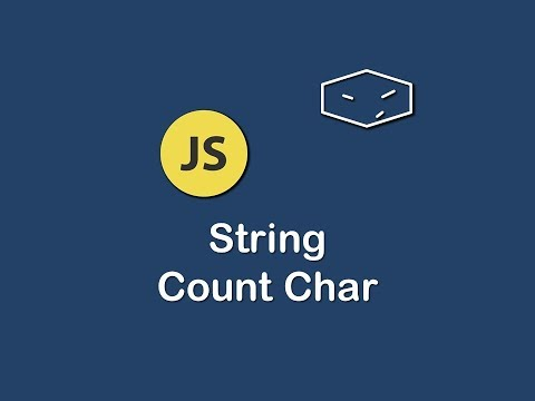 string count char in javascript