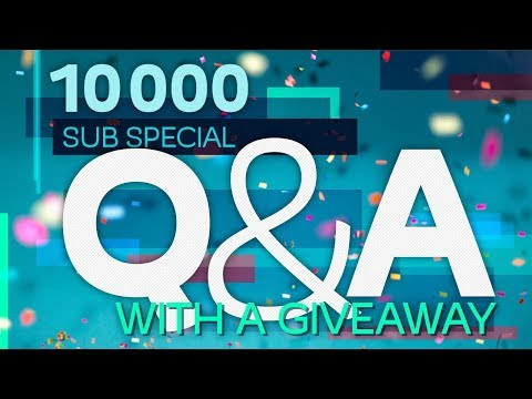 10k Subscriber Q&A [plus a giveaway!]