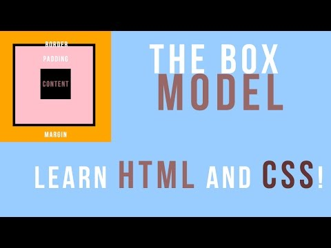 Learn HTML & CSS: What is and understanding the box model