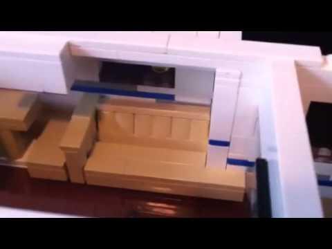Lego travel trailer moc