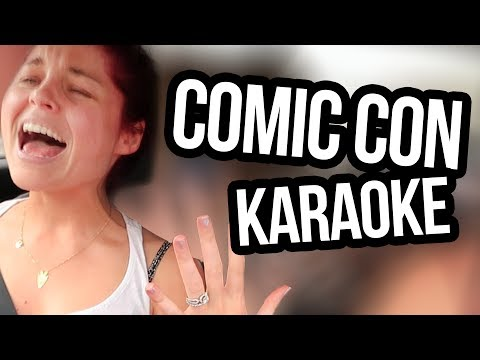 Carpool Karaoke To Comic Con 2017 (Lunchy Break)