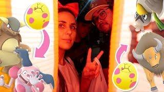 OPENING 7KM REGIONAL EGGS & JAPANESE FESTIVAL | Pokémon GO Vlog | ZoeTwoDots