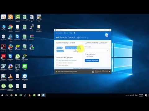 Remote TeamViewer With IP Address