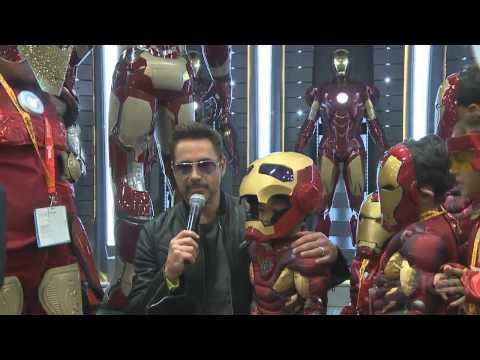 Tony Stark And His Iron Man Army Descend Upon Comic-Con - Comic Con 2012