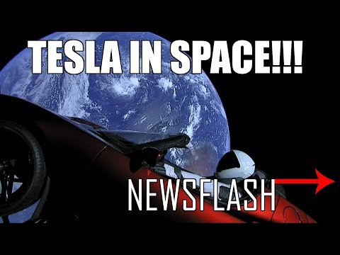NEWSFLASH EP 5 Tesla Roadster In Space, BMW Kills M3, Chris Harris escapes A110 Fire, Mercedes A Cla