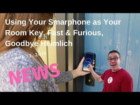 News: Smartphone as a Room Key, New UOR Hotel, Goodbye Sweet Heimlich
