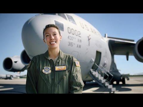 U.S. Air Force: Capt Susan Finch, C-17 Pilot
