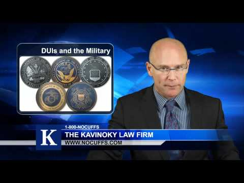 How Are DUIs Handled In The Military?