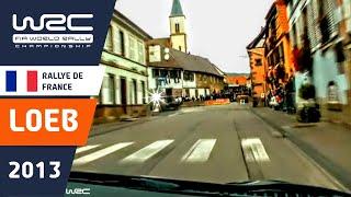 SS3 Onboard Sébastian Loeb/ Rallye de France-Alsace 2013