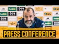 Nuno Talks European Qualification Missing Fans Team News And Podence