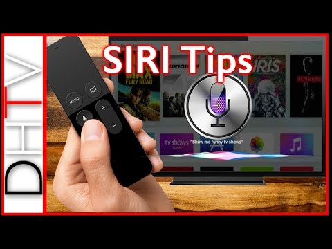 How To - Tips & Tricks With Siri On The Apple TV 4