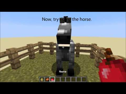 Minecraft: How to Tame a Horse Fast