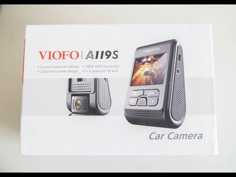 VIOFO Dash Cam A119S Product Review