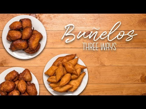Chagi | Buñelos Three Ways