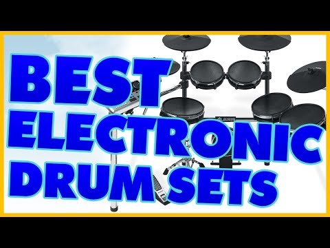 10 Best Electronic Drum Set Reviews 2017