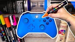 Custom Painting an XBOX CONTROLLER!