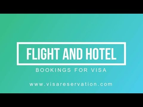 How to book a dummy flight ticket and hotel booking for schengen visa