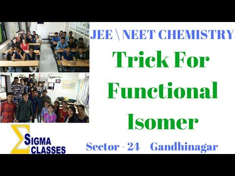 Trick for Functional Isomers | JEE \NEET | CHEMISTRY | By Chintan Sir