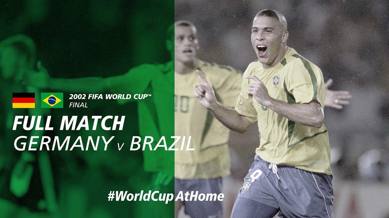 Germany v Brazil | 2002 FIFA World Cup Final | Full Match