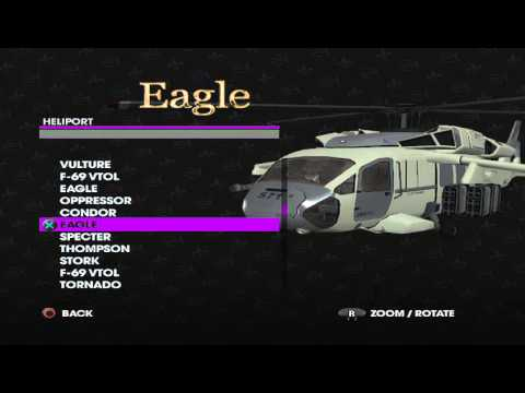 Saints Row 3- All Helipad Vehicles