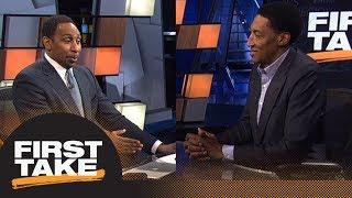 Stephen A. and Scottie Pippen intensely debate LeBron James vs. Michael Jordan   First Take   ESPN