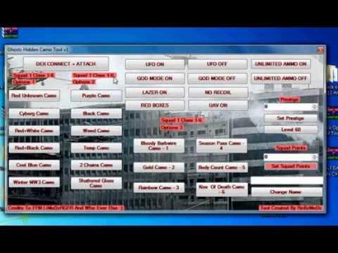 Call Of Duty Ghosts 1.06 Hidden Camo RTM Tool CEX OR DEX + DOWNLOAD LINK!