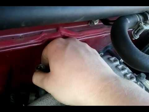 #6 spark plug removal