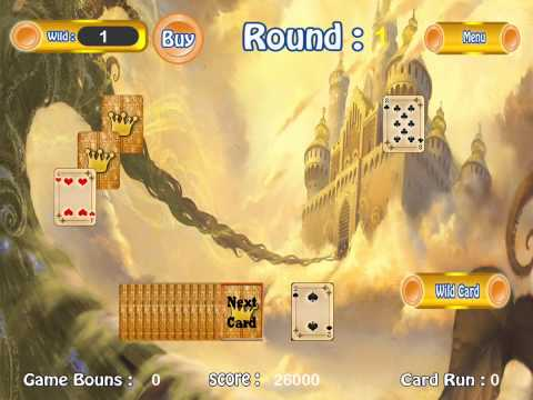 Golden Solitaire Cards Game for Apple iPhone/iPad