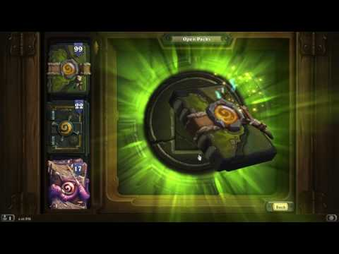 Hearthstone 177 Journey to Un'Goro packs opened! openboosters!