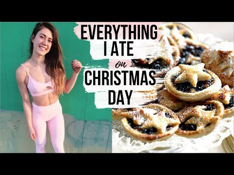WHAT I ATE ON CHRISTMAS DAY & BLOATING AFTER