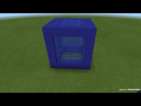 Minecraft cube house part 1