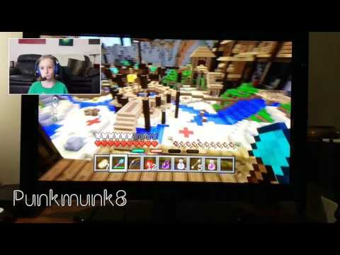 Minecraft Battle Mini Game and Snowballs