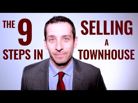 The 9 Steps In Selling A Townhouse